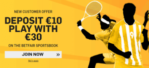 Betfair has regularely switch offers for their new customers