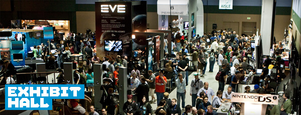 PAX West 2016 exhibit hall