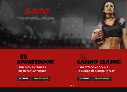 Intertops Homepage