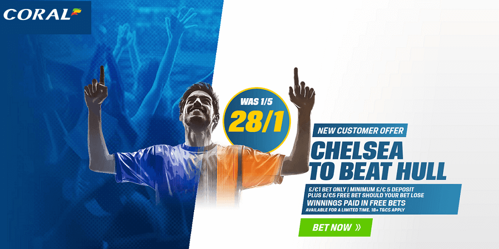 Chelsea vs Hull City Enhanced Odds