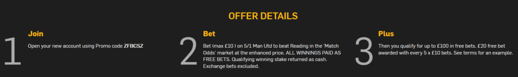 enhanced odds promotions -betfair conditions