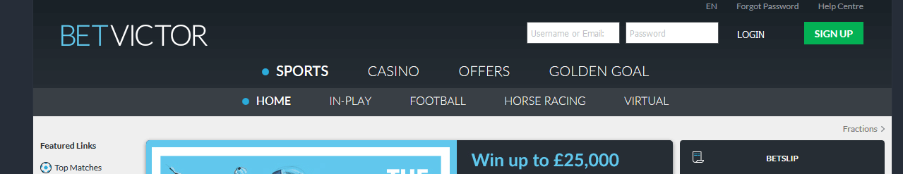 BetVictor Review How To 1