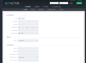 Betvictor How To 2