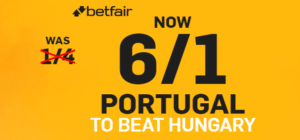 Betfair Portugal Offer