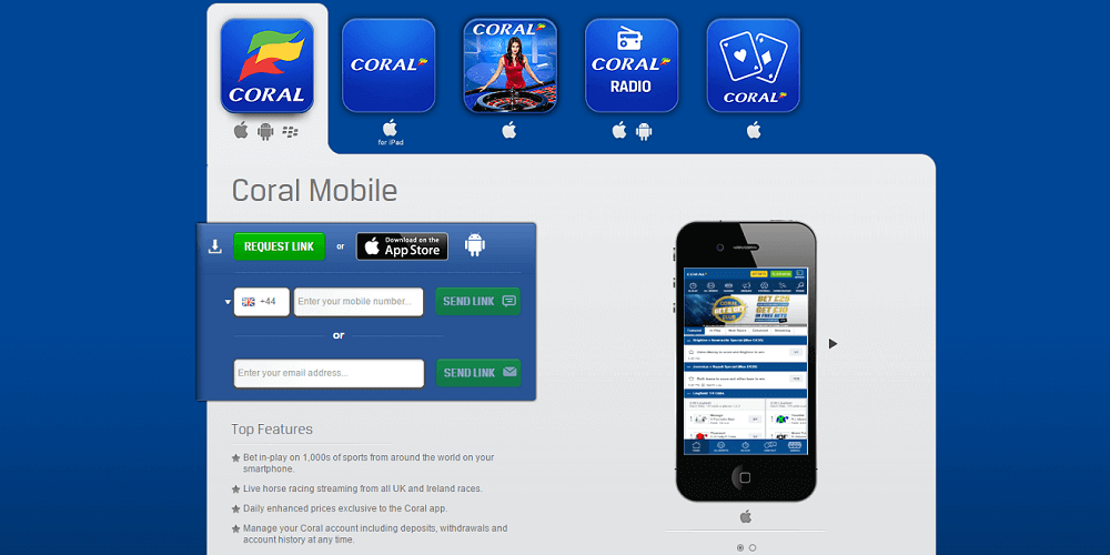 Coral Mobile app featured image