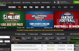 Draftkings Week One Nfl Contest