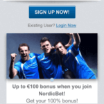 Nordicbet Mobile Betting