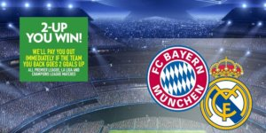 Champions League Football Betting Promotion