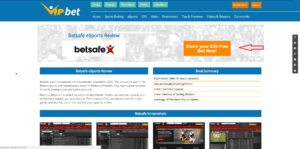 Betsafe Step 1