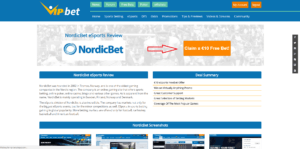 Nordic Bet Step 1