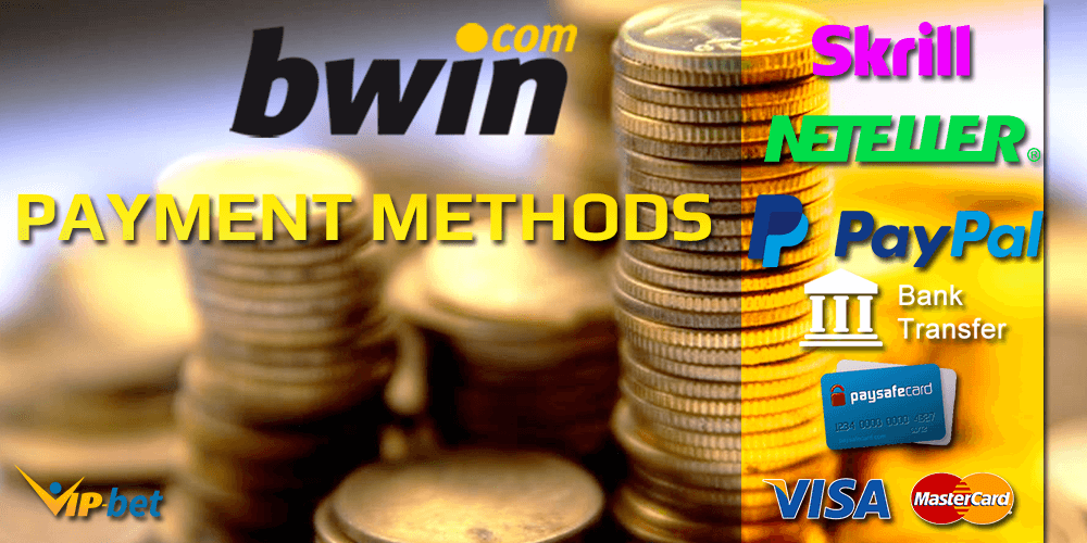 Bwin Payment Methods