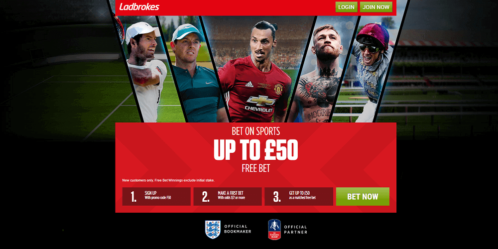 Ladbrokes Live Betting Feature