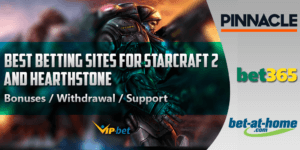 Best betting sites for StarCraft 2 and Hearthstone