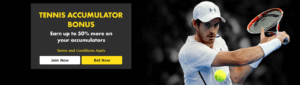 Betg365 Tennis Accumulator Promo