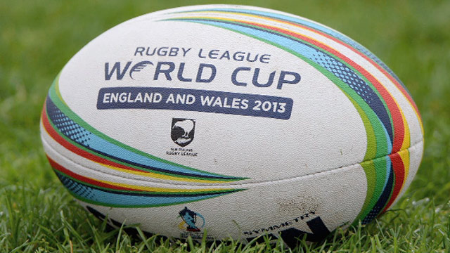 Rugby League World Cup Ball