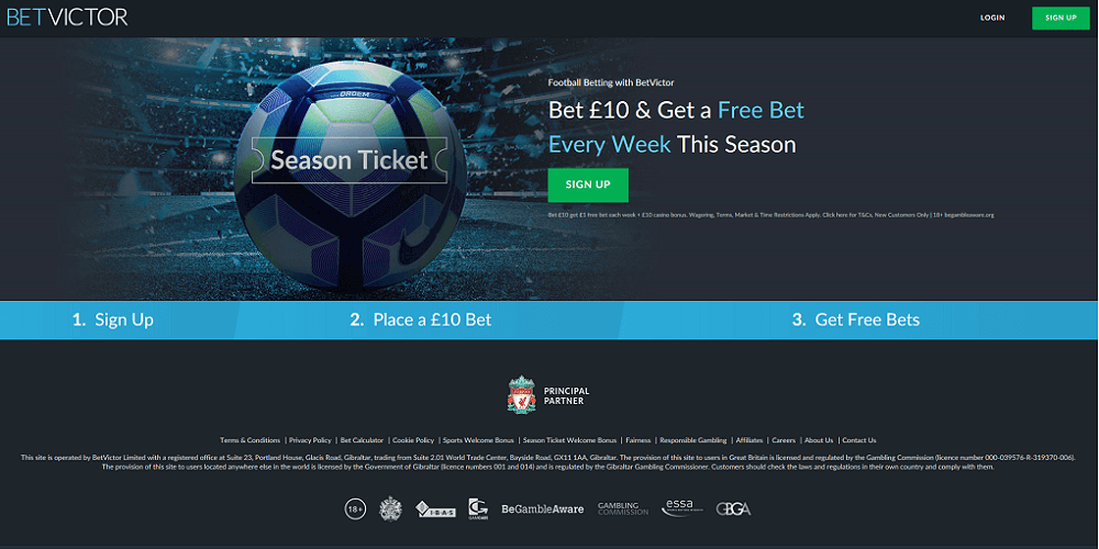 BetVictor Season Ticket Feature Image