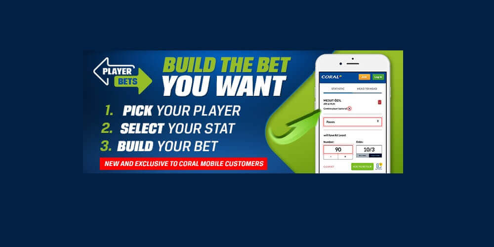 Coral Mobile Player Bets