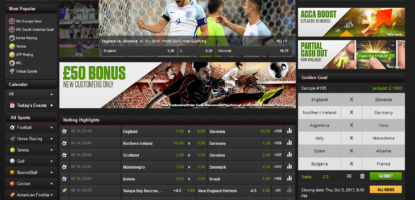NetBet Main Page