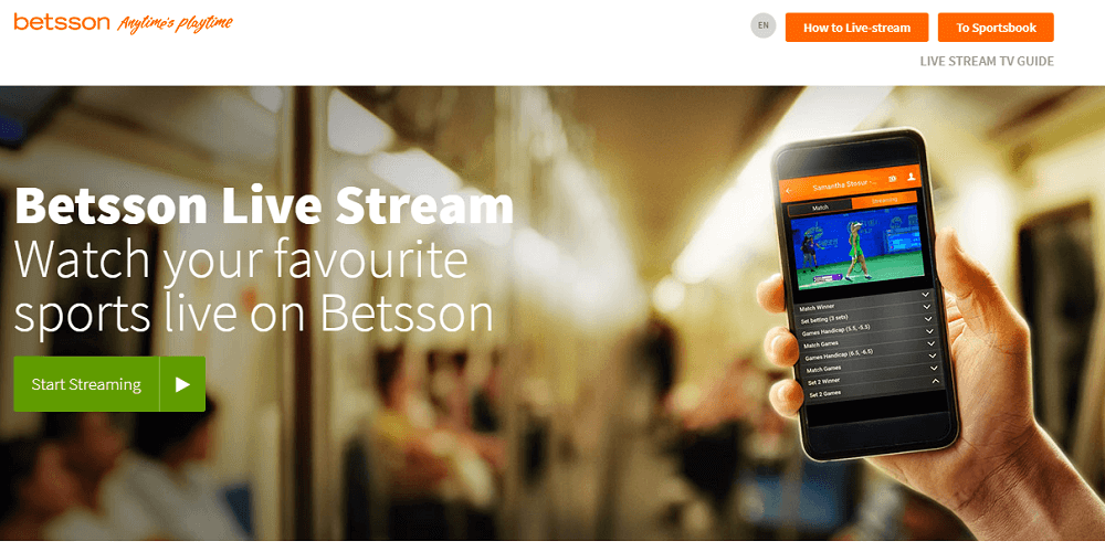 Betsson Live Streams Guide & Overview