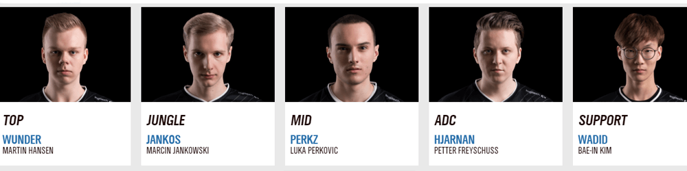 G2 Esports Roster
