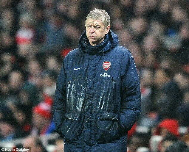 Wenger Unhappy