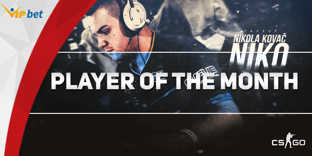 Niko Player Of The Month Wallpaper