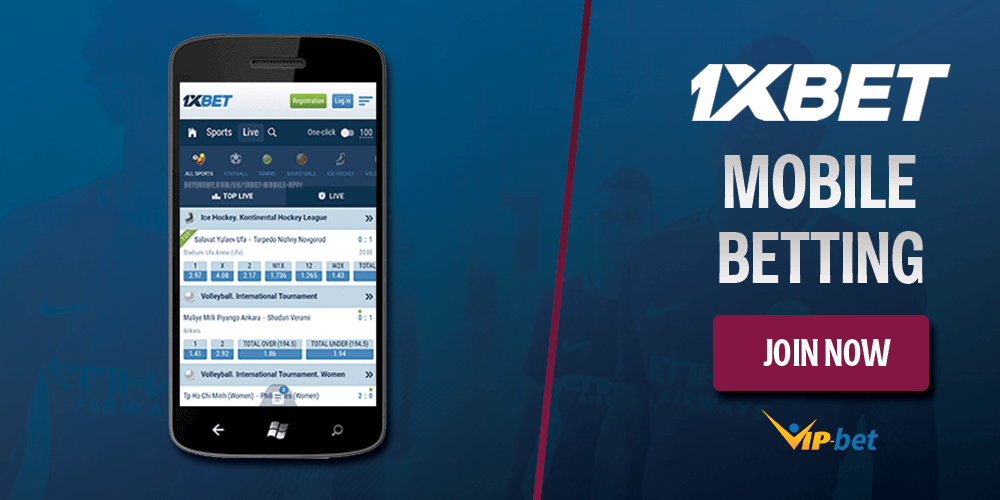 1xbet Mobile Betting