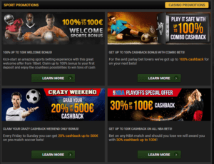 18Bet Sports Betting Promotions