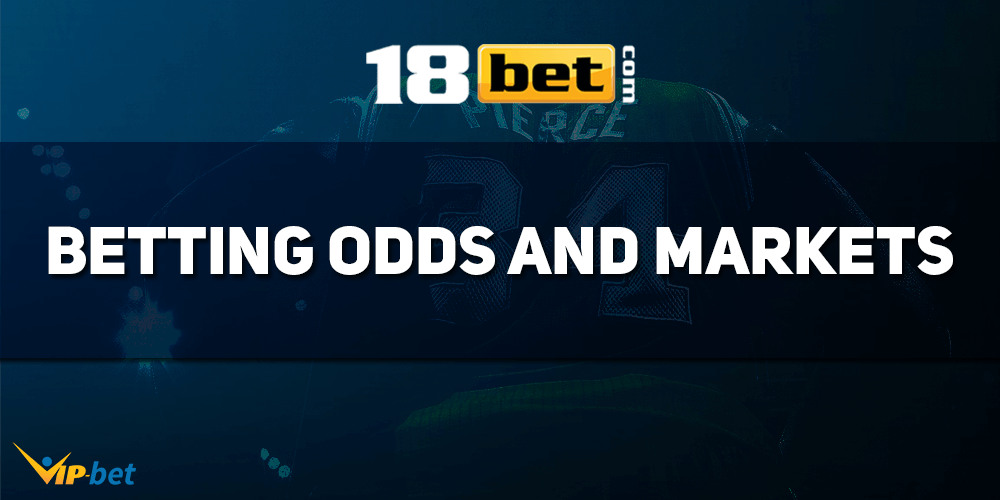 18bet Betting Odds And Markets