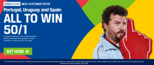 Coral Enhanced World Cup Odds Offer