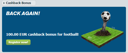 Bet-at-home Cashback I Up to €100 for Lost Bets