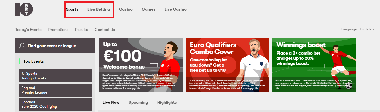 10bet Login Sports & Live Betting (1)