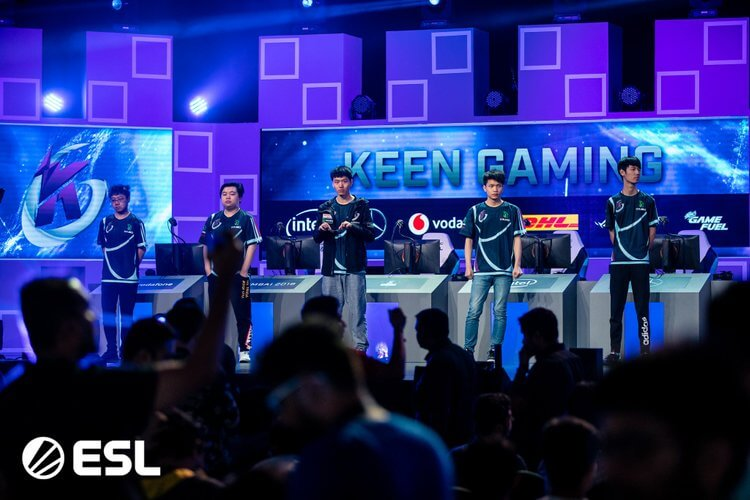 Keen Gaming Wins ESL One Mumbai VIP-Bet.com