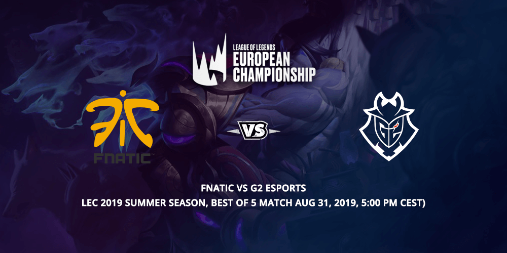 G2 Esports vs Fnatic Betting Tips VIP-Bet.com